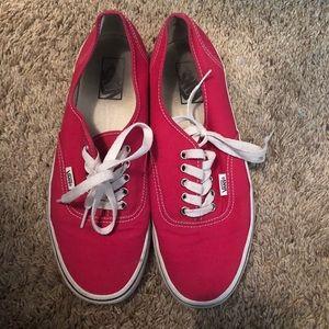 Vans Shoes - Pink vans